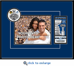 2015 NHL Stanley Cup Final Your 8x10 Photo Ticket Frame - Tampa Bay Lightning