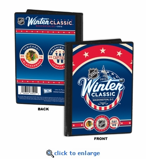 2015 NHL Winter Classic 4x6 Photo Album / Brag Book - Blackhawks vs Capitals