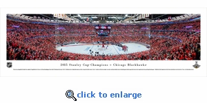 2015 Stanley Cup Champions - Chicago Blackhawks - Panoramic Photo (13.5 x 40)