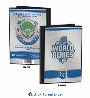 2015 World Series 4x6 Mini Photo Album - Kansas City Royals