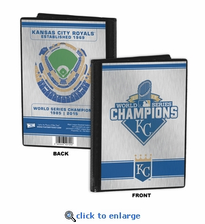 2015 World Series Champions 4x6 Mini Photo Album - Kansas City Royals