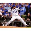 Game 2 - Johnny Cueto Action