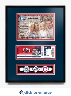 2016 ALCS Your 5x7 Photo Ticket Frame - Cleveland Indians