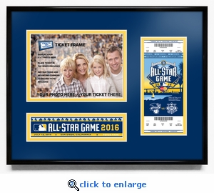 2016 MLB All-Star Game 5x7 Photo Ticket Frame - San Diego Padres
