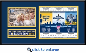 2016 MLB All-Star Game 5x7 Photo Ticket Strip Frame - San Diego Padres