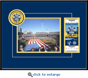 2016 MLB All-Star Game 8x10 Photo Ticket Frame - San Diego Padres