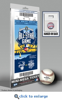 2016 MLB All-Star Game Mini-Mega Ticket - San Diego Padres