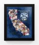 2016 MLB All-Star Game State of Mind Framed Print - San Diego Padres