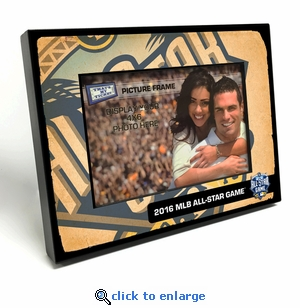 2016 MLB All-Star Game Black Wood Edge 4x6 Picture Frame - San Diego Padres