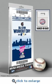 2016 MLB Home Run Derby Mini-Mega Ticket - San Diego Padres