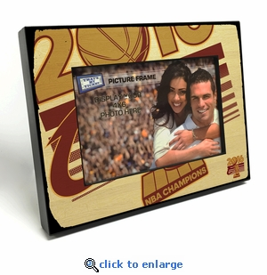 2016 NBA Champions Black Wood Edge 4x6 inch Picture Frame - Cleveland Cavaliers