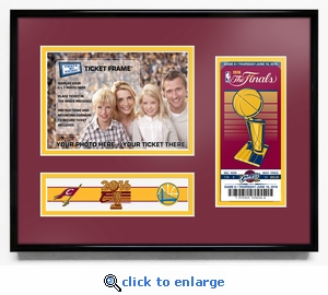 2016 NBA Finals 5x7 Photo &�Commemorative Ticket Frame - Cleveland Cavaliers