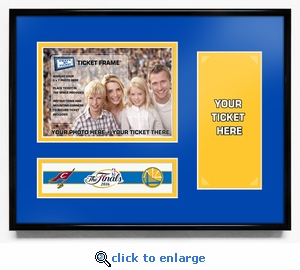 2016 NBA Finals 5x7 Photo Ticket Frame - Golden State Warriors