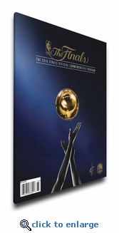 2016 NBA Finals Program Cover on Canvas - Cavaliers vs Warriors