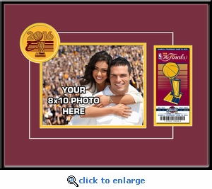 2016 NBA Finals Your 8x10 Photo & Commemorative Ticket Frame - Cleveland Cavaliers