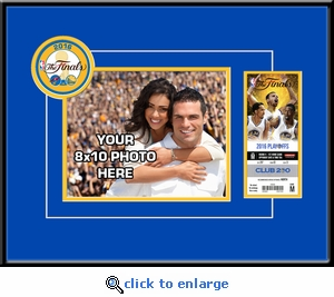 2016 NBA Finals Your 8x10 Photo Ticket Frame - Golden State Warriors