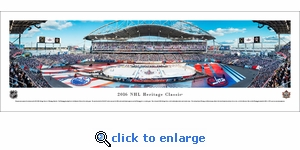 2016 NHL Heritage Classic - Jets vs Oilers - Panoramic Photo (13.5 x 40)