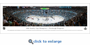 2016 NHL Stanley Cup Champions - Pittsburgh Penguins - Panoramic Photo (13.5 x 40)