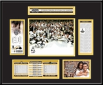 2016 NHL Stanley Cup Champions Ticket Frame - Pittsburgh Penguins