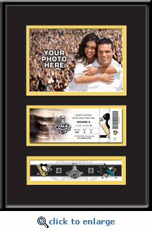 2016 NHL Stanley Cup Final 5x7 Photo &�Ticket Frame - Pittsburgh Penguins