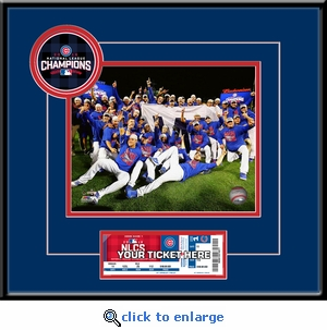 2016 NLCS 8x10 Photo Ticket Frame - Chicago Cubs