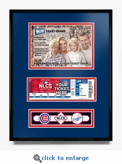 2016 NLCS Your 5x7 Photo Ticket Frame - Chicago Cubs