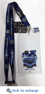 2016 Winter Classic Lanyard, Ticket Holder & I Was There Pin - Bruins vs Canadiens