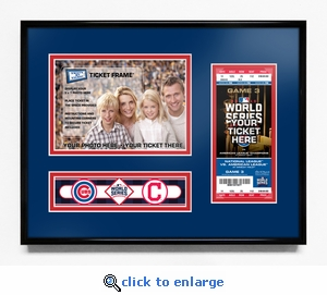 2016 World Series Champions 5x7 Photo Ticket Frame - Chicago Cubs