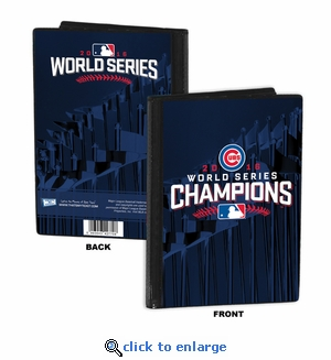 2016 World Series Champions 4x6 Mini Photo Album - Chicago Cubs