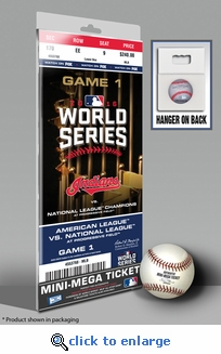 2016 World Series Mini-Mega Ticket - Cleveland Indians