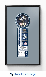 2017 ALCS Single Ticket Frame - New York Yankees