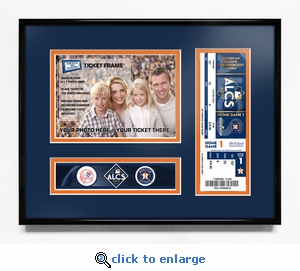 2017 ALCS Your 5x7 Photo Ticket Frame - Houston Astros