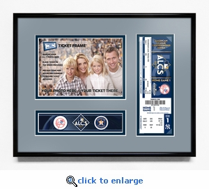2017 ALCS Your 5x7 Photo Ticket Frame - New York Yankees