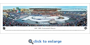 2017 Centennial Classic - Maple Leafs vs Red Wings - Panoramic Photo (13.5 x 40)