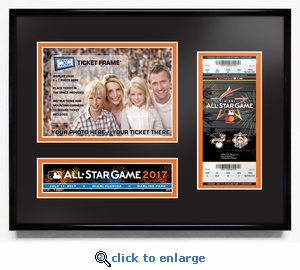 2017 MLB All-Star Game 5x7 Photo Ticket Frame - Miami Marlins