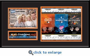 2017 MLB All-Star Game 5x7 Photo Ticket Strip Frame - Miami Marlins