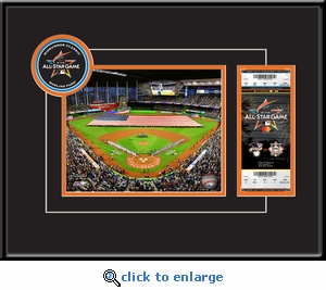 2017 MLB All-Star Game 8x10 Photo Ticket Frame - Miami Marlins