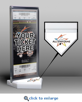 2017 MLB All-Star Game Home Plate Ticket Display Stand - Miami Marlins