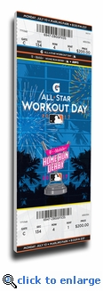 2017 MLB Home Run Derby Mega Ticket - Miami Marlins