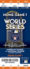2017 World Series - Astros vs Dodgers