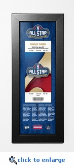 2017 NBA All-Star Game Framed Ticket Print - New Orleans
