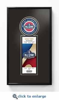 2017 NBA All-Star Game Single Ticket Frame - New Orleans