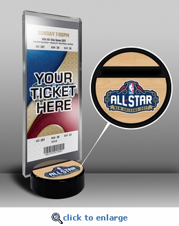 2017 NBA All-Star Game Ticket Display Stand - New Orleans