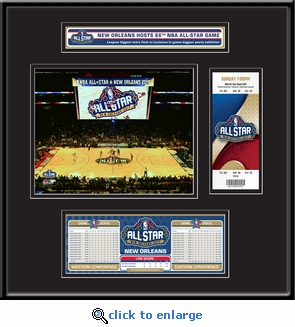 2017 NBA All-Star Game Ticket Frame Jr - New Orleans