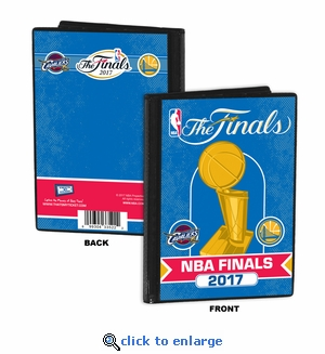 2017 NBA Finals 4x6 Photo Album / Brag Book - Cavaliers vs Warriors