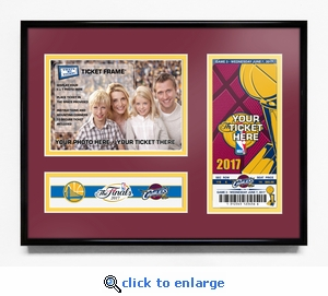 2017 NBA Finals 5x7 Photo &�Commemorative Ticket Frame - Cleveland Cavaliers