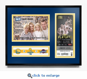 2017 NBA Finals Champions 5x7 Photo &�Ticket Frame - Golden State Warriors