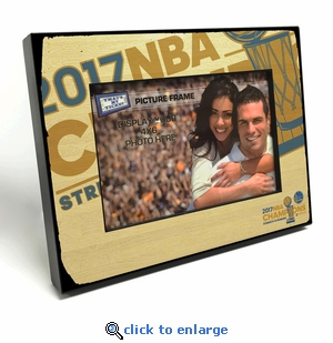 2017 NBA Finals Champions 4x6-inch Picture Frame - Golden State Warriors
