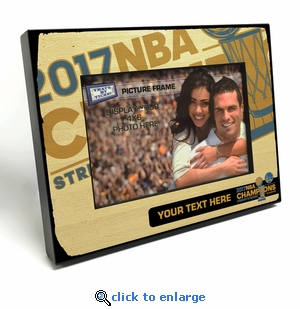 2017 NBA Finals Champions Personalized 4x6-inch Picture Frame - Golden State Warriors