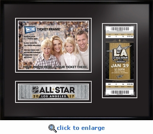2017 NHL All-Star Game 5x7 Photo Ticket Frame - Los Angeles Kings